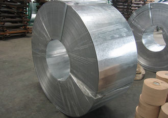 China 30mm - 400mm Z10 to Z27 Zinc coating HOT DIPPED GALVANIZED Steel Strip / Strips supplier