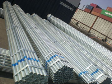 China Galvanized or Coated with Oil Tube / Round / ERW Welded Steel Pipes or Square Pipe supplier